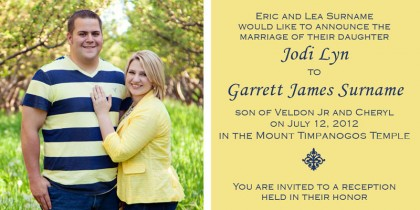 Wedding Announcements