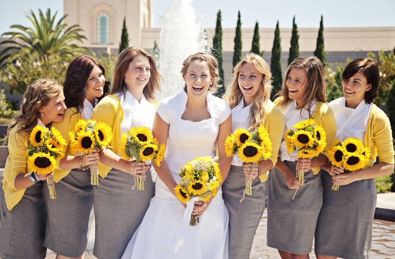 Bride and Bridesmaids Newport Beach