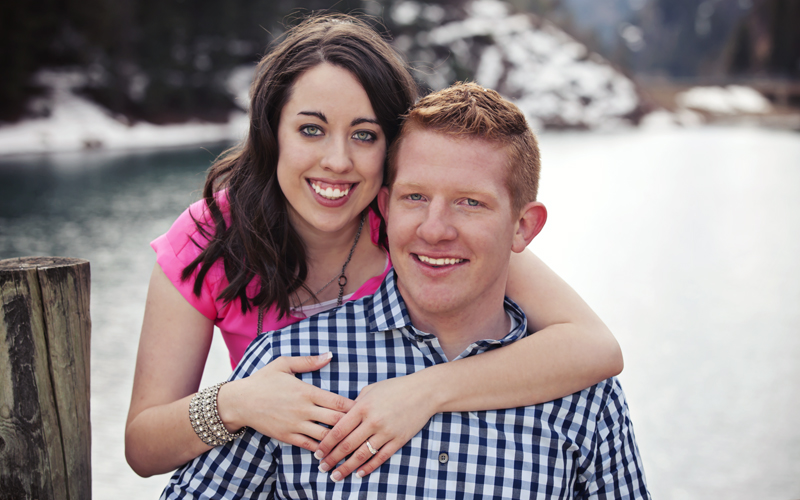 Dave Neeley Engagement Photographer Tibble Creek Resevoir