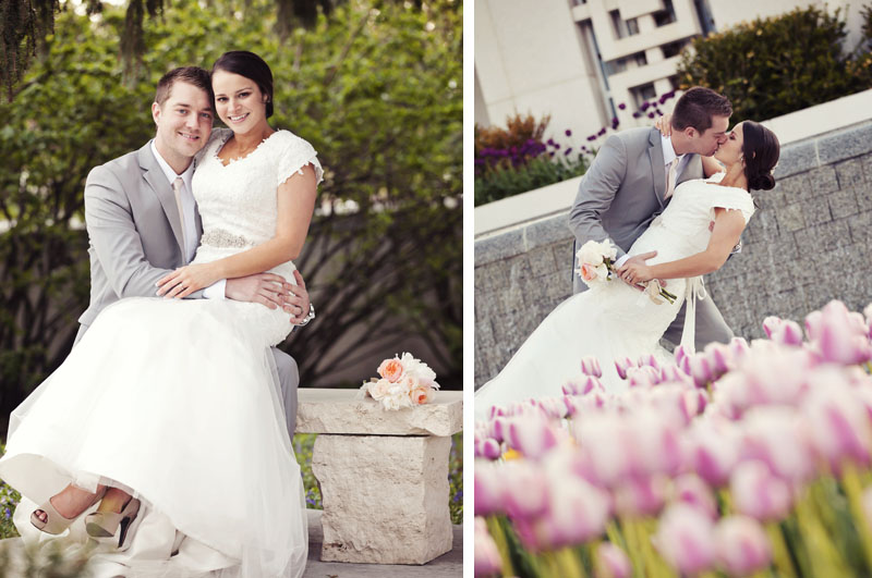 Idaho Falls Temple Wedding Photo by Dave Neeley